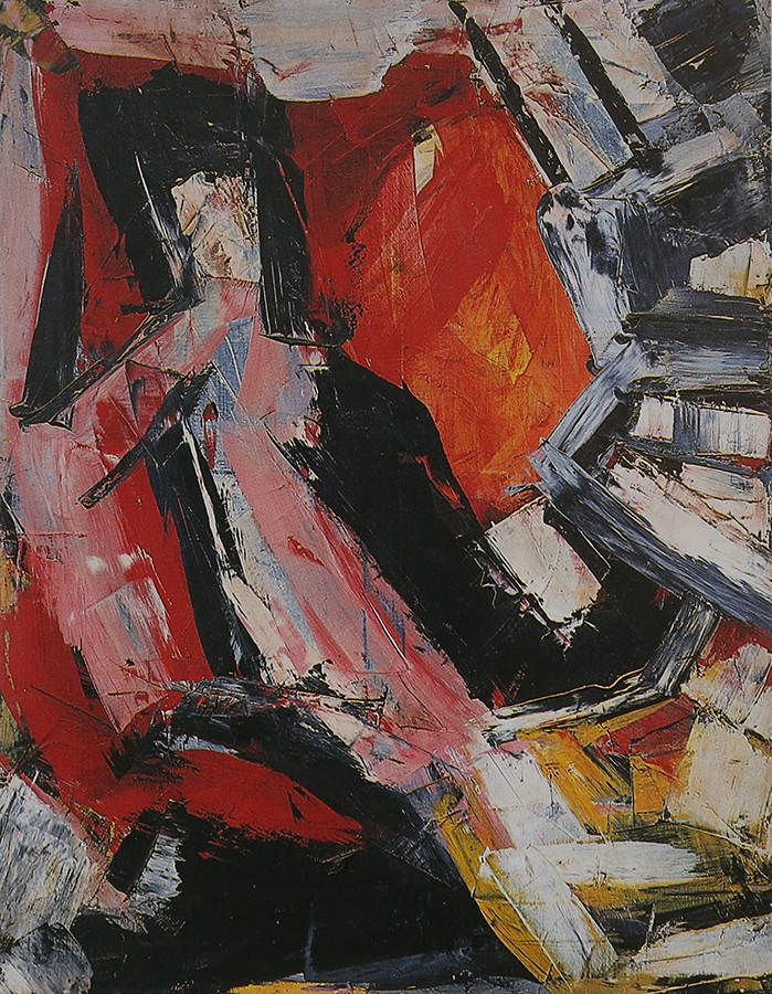 Sans titre 1964 huile/toile 146 x 114 cm