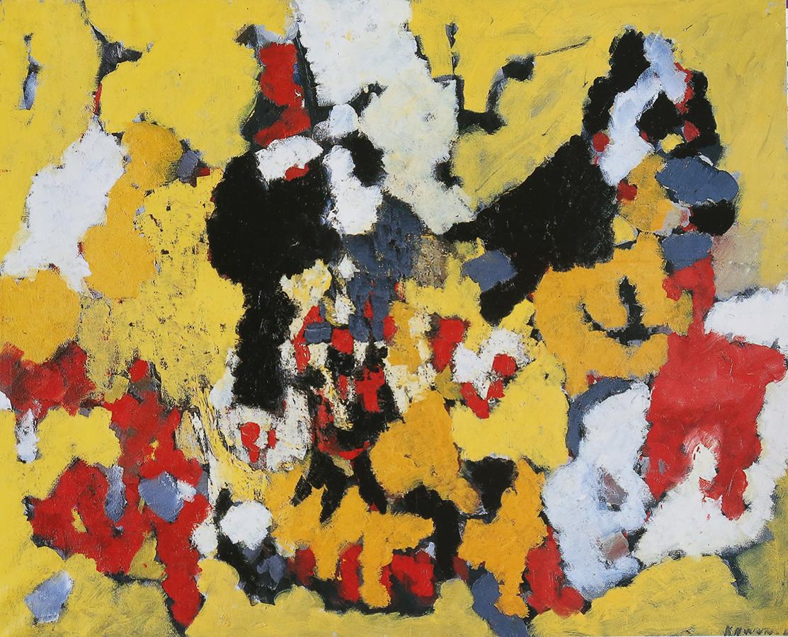 Sans titre 1958 huile/toile 80 x 100 cm
