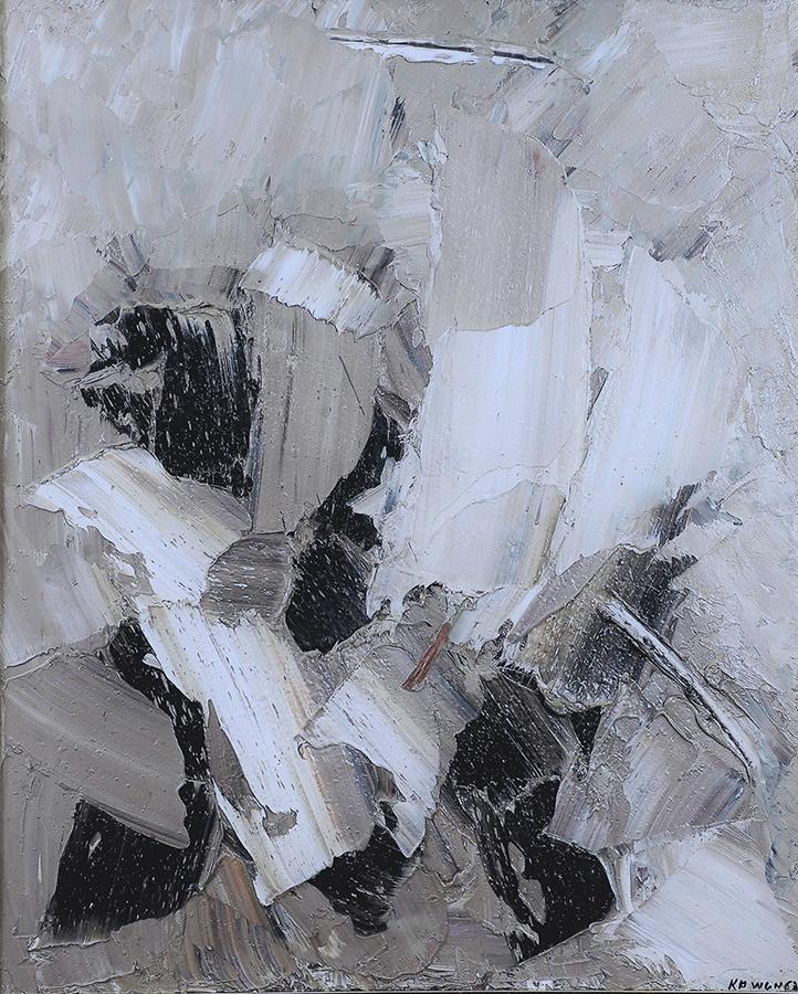 Auvergne 1963 huile/toile 103 x 83 cm