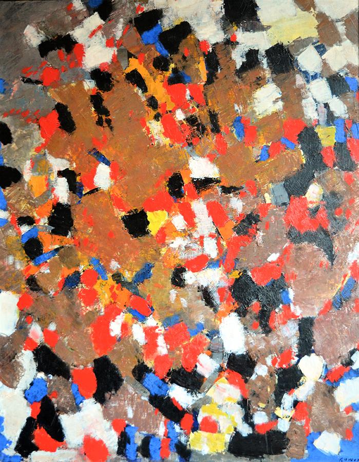 Sans titre 1956 huile/toile 91 x 71 cm