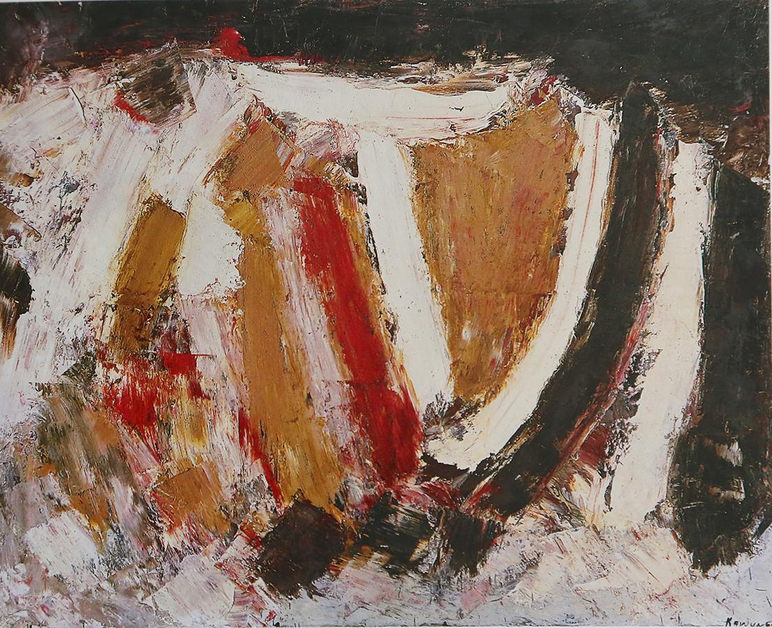 Auvergne 1963 huile/toile 130 x 162 cm