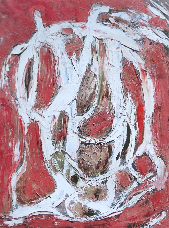 Rothois en été 1962 huile/toile 65 x 50 cm