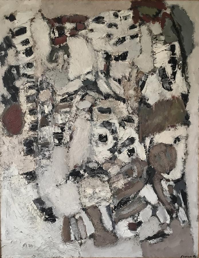Les Carrières 1960-1961 huile/toile 146 x 114 cm