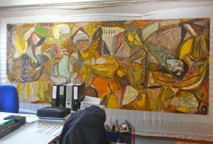 le séchage aux Ateliers Saint-Martin