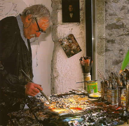 KAWUN dans son atelier -1993-