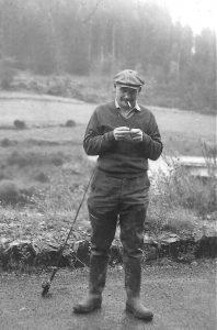 Kawun à la pêche -1955-