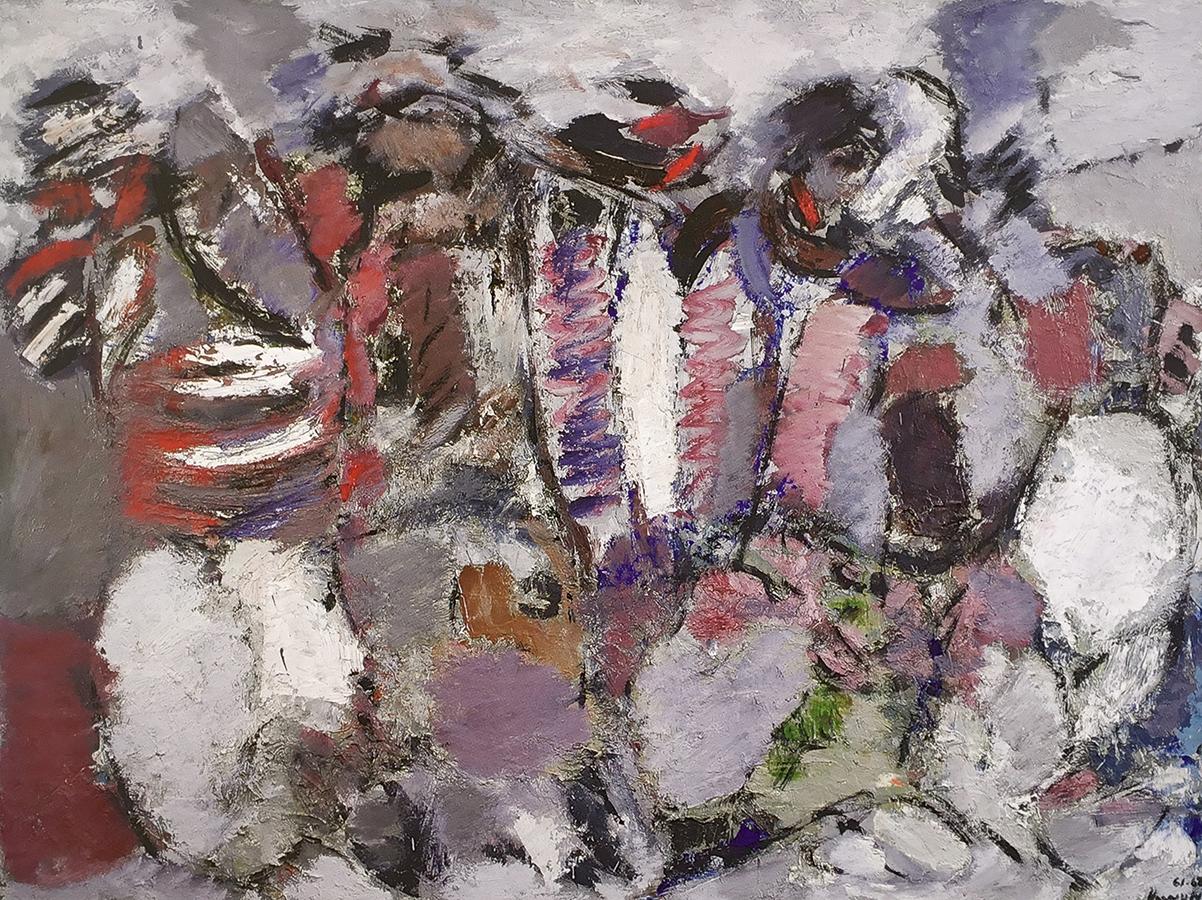 Les Carrières (suite) 1961-1962 huile/toile 97 x 125 cm