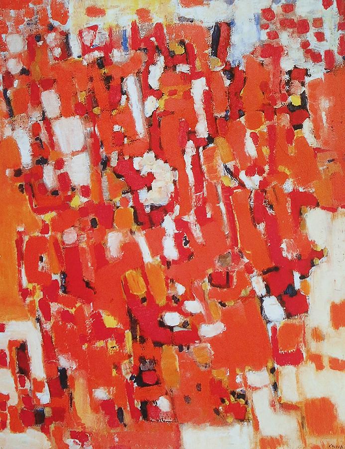 Les Chèvres III 1955 huile/toile 80 x 64 cm