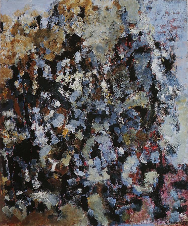 Sans titre 1957 huile/toile 65 x 54 cm