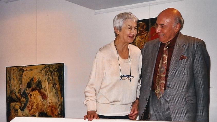 Denise Kawun et Basile Zonarellis