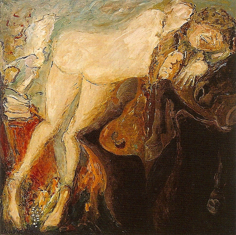 Conte Ukrainien huile/toile 1993 150 x 150 cm
