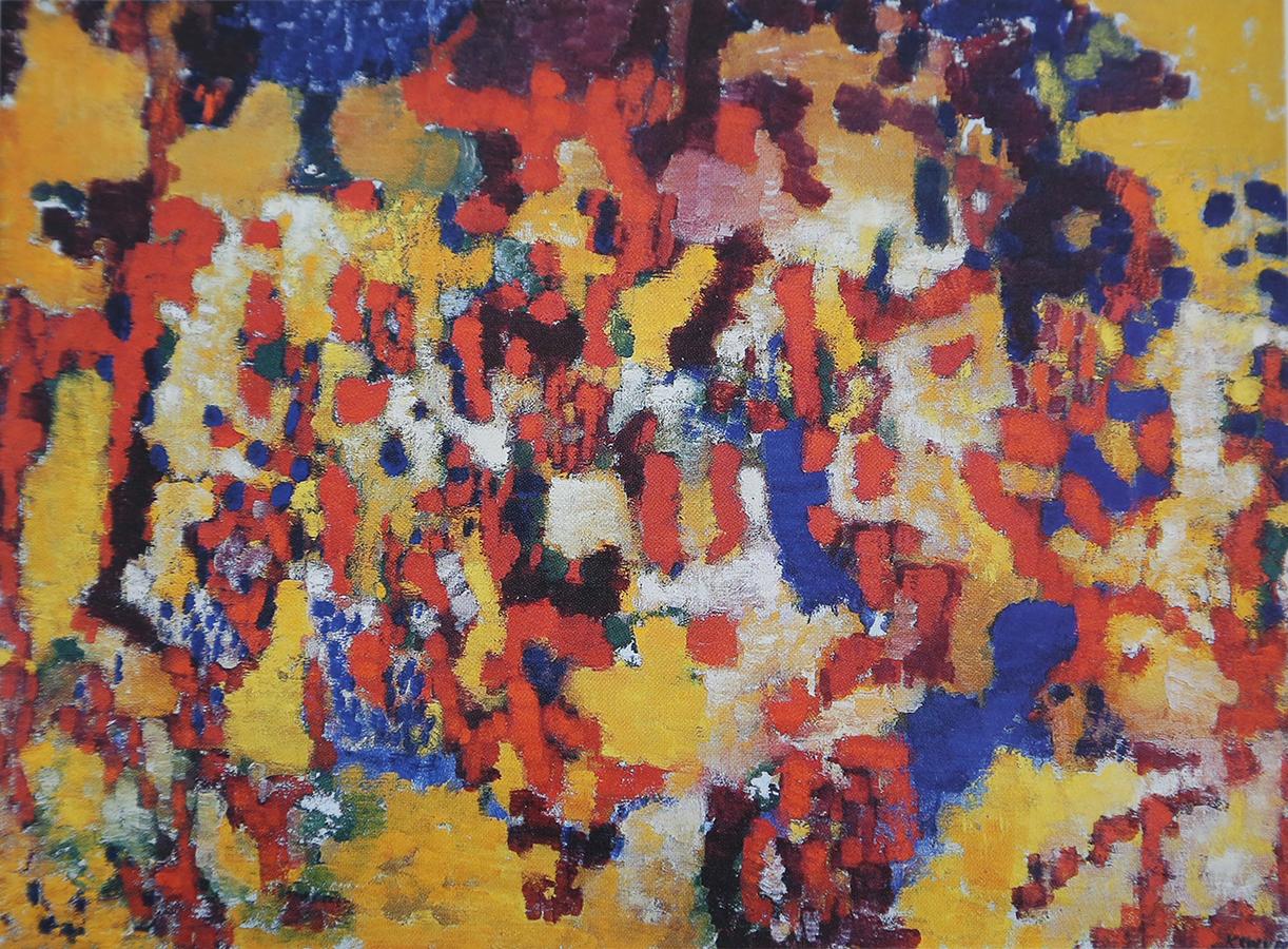 Sans titre 1958 huile/toile 60 x 80,5 cm