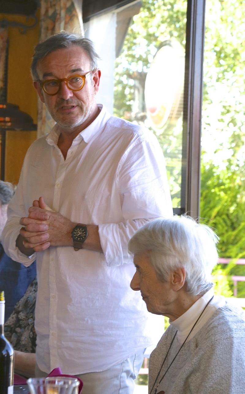 Gil Griffoux et Denise Kawun