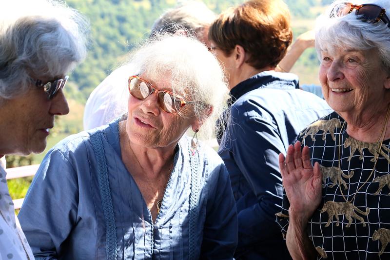 France Duclos, Christiane Danest et Suzy Zonarellis