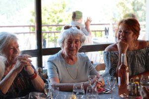 Christiane Danest, Suzy Zonarellis et Odile Mobihan